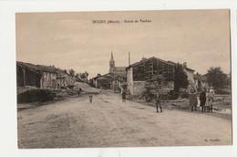 [55] Meuse > CPA//DUGNY- ROUTE DE VERDUN Animée  CIRCULEE/19 AVRIL 1931 - Autres Communes