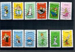 YT AA 1729 A 1740 Série Complete Astérix - Luchtpost
