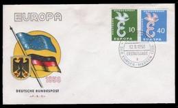 EUROPA - Germania: Busta Primo Giorno Di Emissione - 13/9/1958 - 1958