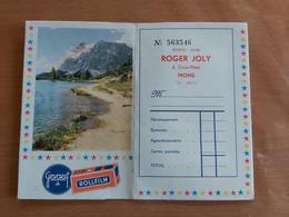 Pochette Photo Mons Photo Ciné ROGER JOLY Croix  Place 6 Mons Dans Les Année 1950 Plus Ou Moins - Advertising