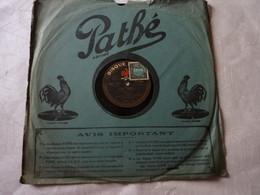 Disque 78 T Phonographe GRAMOPHONE Pathé - Vaguet De L'opéra N° 3153 - 78 G - Dischi Per Fonografi