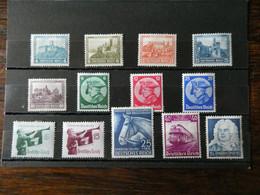 ALLEMAGNE   Neufs Avec Charnière Cote 130 € - Unused Stamps