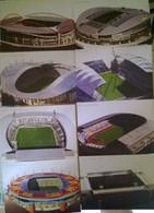 9 Postcards Stadium Portugal EURO 2004 Stadion Stadio Estadio Stade Sports Football  Soccer EUROPEI - Calcio