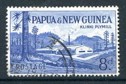 Papua New Guinea 1958-60 Pictorial Definitives - 8d Klinki Plymill Used (SG 21) - Papua Nuova Guinea