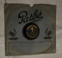 Disque 78 T Phonographe GRAMOPHONE Pathé - Orchestre Pathé Frères N° 6085 - 78 G - Dischi Per Fonografi