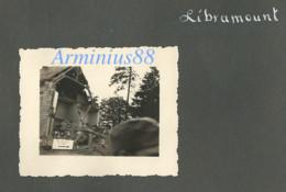 Belgique, Mai 1940 - Libramont-Chevigny - Pancarte Indiquant Saint-Hubert & Bastogne - Funk-Kompanie 2 - Wehrmacht - Guerre, Militaire
