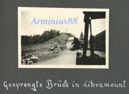 Belgique, Mai 1940 - Libramont-Chevigny - Pont De Chemin De Fer Détruit - Funk-Kompanie 2 - Wehrmacht - Westfeldzug - Guerre, Militaire