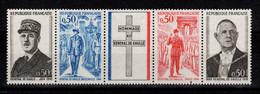 YV 1698A N** Bande General De Gaulle Cote 3,50 Euros - Nuevos