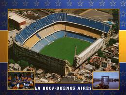 Postcard Stadium Buenos Aires Argentina Boca Juniors Stadion Stadio - Estadio - Stade - Sports - Football  Soccer - Fútbol