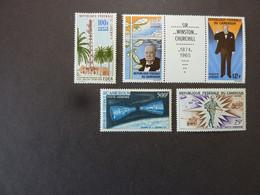 CAMEROUN, Poste Aérienne, Année 1958-66, YT N° 58 + 66 Et 67 Se Tenant + 73 + 85 Neufs MH* - Kamerun (1960-...)