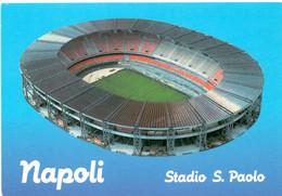 Postcard Stadium Napoli Italia San Paolo Stadion Stadio - Estadio - Stade - Sports - Football  Soccer - Calcio
