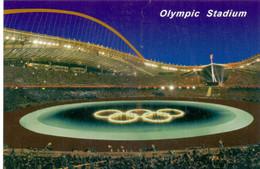 Postcard Stadium Athens Greece Stadion Stadio Estadio Stade - Sports - Football  Soccer - Olympic Olimpico - Calcio