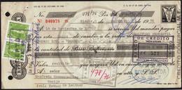 Bolivia 1976 Letra De Cambio $b20.-. EDVIL Edit. Offset. $b4.- Tipo H&A 126 Lito Copacabana La Paz - Bolivia