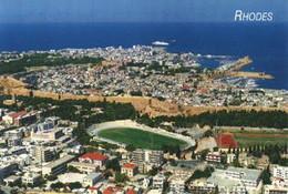 Postcard Stadium Rodi Grecia Stadion Stadio - Estadio - Stade - Sports - Football  Soccer - Calcio
