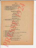 Infos Aube 1924 Montiéramey Montpothier La Motte Tilly Corpel Mussy Sur Seine Nogent Sur Aube Nogent Sur Seine 250/3 - Unclassified