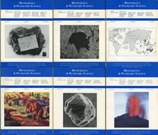 Meteoritics & Planetary Science 1997  (7 Numbers) - Astronomy