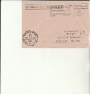 Z1 - Enveloppe   Gendarmerie  ST DIE   -    En Franchise - - Bolli Militari A Partire Dal 1940 (fuori Dal Periodo Di Guerra)