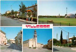 Postcard Stadium Villesse Italy Campo Sportivo Stadion Stadio - Estadio - Stade - Sports - Football  Soccer - Soccer
