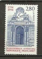 "France:n°2907** ""Ecole Normale Supérieure"" (sous Faciale) - Unused Stamps"