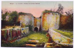 C. P. A. Couleur : 33 BLAYE : La Citadelle Ruines Du Château Caribert - Blaye