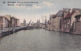 Mechelen - Zicht Op De Elektrische Brug - Ponti