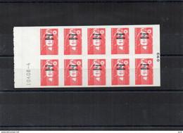 SAINT- PIERRE ET MIQUELON LUXE** C590 Marianne Bicentenaire - Carnets