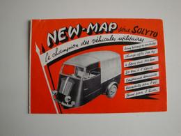 Automobilia,plaquette Originale Motocyclettes NEW-MAP Série SOLYTO,utilitaire,Lyon - Cars