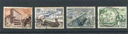 MADAGASCAR  N°  327 A 330  (Y&T)  (Oblitéré) - Used Stamps
