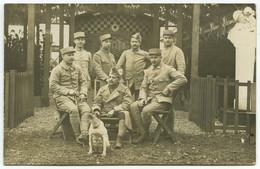 Guerre De 1914-18 . Carte Photo . Souvenir Du 22 Avril 1918 . Cantine Américaine . Châlons-sur-Marne . - Châlons-sur-Marne