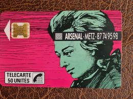 F86 - Télécarte MOZART ARSENAL - ETAT TTB - 1989