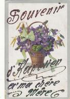 """KAPELLEN : UNIQUE !!! """"SOUVENIR DE KAPELLEN A MA CHERE MERE """" Carte Faite Par L Expediteur. A SAISIR.1919.BON ETAT. - Kapellen"""