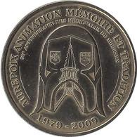 2009 MDP108 - MIREPOIX 2 - Animation Mémoire Et Tradition / MONNAIE DE PARIS 2009 - 2009