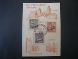 Deutschland Alliierte Besetzung Sowjet. Zone Nichtamtliche Ausgaben/Privaterzeugnis 1946- Spendenmarken Wiederaufbau - Sovjetzone