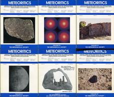 Meteoritics & Planetary Science 1995  (6 Numbers) - Astronomy