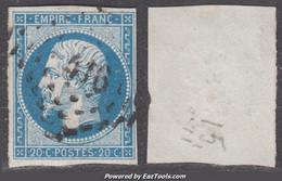 PC 416 (Blet, Cher (17)), Cote 12.5€ - 1849-1876: Classic Period