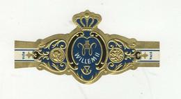 BAGUES DE CIGARES  1 EX. WILLEM II  FLOR FINA - Bauchbinden (Zigarrenringe)