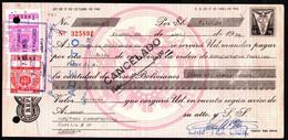 Bolivia 1976 Letra De Cambio $b50.-. EDVIL Edit. Offset. $b3.- + $b5.- Tipo H&A 128 Grande Lito Unidas S.A. La Paz - Bolivia
