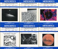 Meteoritics & Planetary Science 1994  (6 Numbers) - Astronomy
