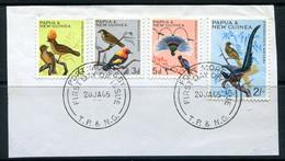 Papua New Guinea 1964-65 Birds Values On Piece Used (SG 61-63 & 67) - Papouasie-Nouvelle-Guinée