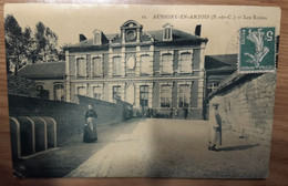Carte Postale Aubigny En Artois Les Ecoles - Aubigny En Artois