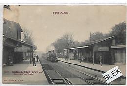 75017  Paris : Station De Clichy . - District 17
