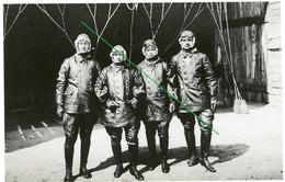 14-18.WWI Foto (Photo) - Luftwaffe - Ballon - Fesselballon Beobachter Portrait Besatzung  . Interressant ! - 1914-18