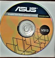 ASUS GRAPHIC CARD MULTI LANGUAGE MANUAL Q2340,Q2341,Q1836 NUOVO V513 - CD