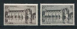 FRANCE- Y&T N°610 Et 611- Neufs Sans Charnière ** - Neufs