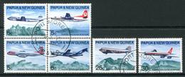 Papua New Guinea 1970 Australia & New Guinea Air Services Set Used (SG 177-182) - Papua Nuova Guinea