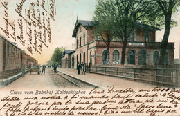 KALDENKIRCHEN - GRUSS VOM BAHNHOF - GERMANIA - VIAGGIATA - Ohne Zuordnung