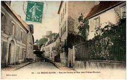 95 LA ROCHE-GUYON - Rue De Poissy Et Rue Des Fréres-Rousse - La Roche Guyon