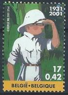 Z0331 - BELGIE - BELGIUM - 2001 - Nr 3048 - KUIFJE IN CONGO - TINTIN AU CONGO - STRIP - COMIC - Unused Stamps