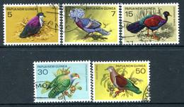 Papua New Guinea 1977 Birds Set Used (SG 333-337) - Papouasie-Nouvelle-Guinée