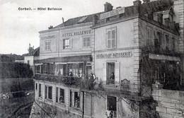 91  CORBEIL ESSONNES   HOTEL BELLEVUE - Corbeil Essonnes